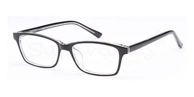 Black/Crystal SIG 060 Glasses, Radon