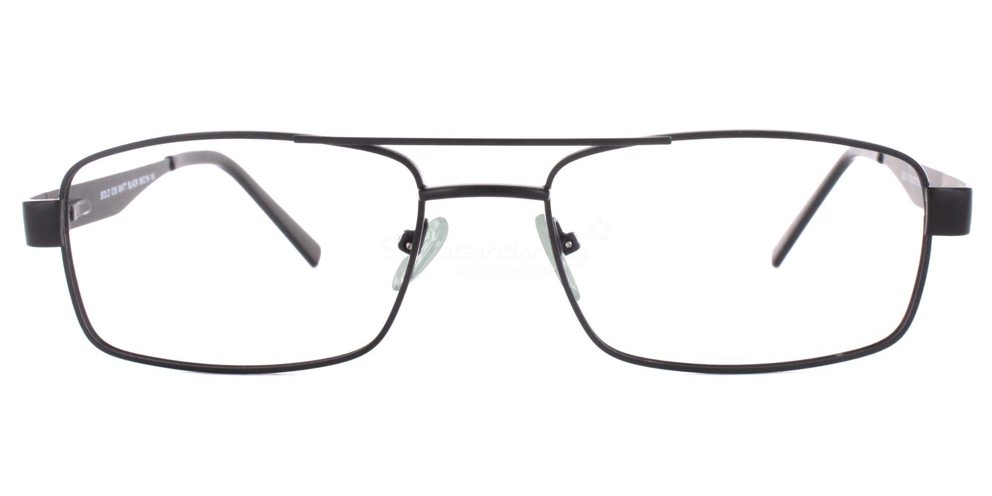 Black SIG 105 Glasses, Radon