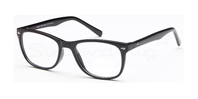 Black SIG 123 Glasses, Radon