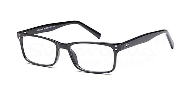 Black SIG 125 Glasses, Radon