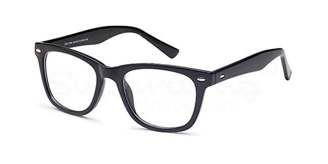 Black SIG 129 Glasses, Radon