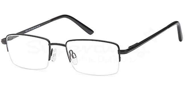 Black SIG 140 Glasses, Radon