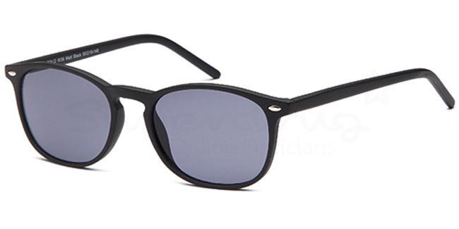 Matt Black W38 Sunglasses, Solo Collection