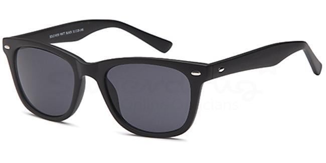 Matt Black W39 Sunglasses, Solo Collection