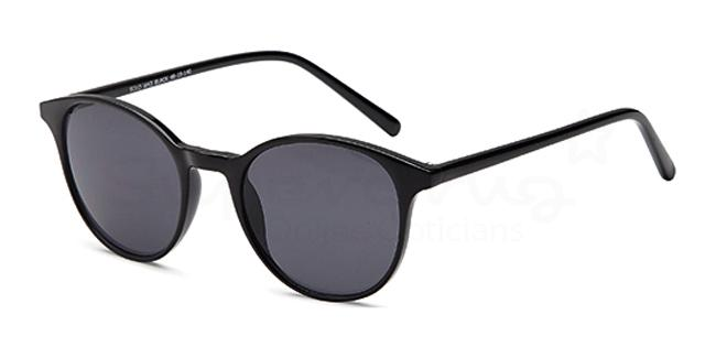 Black SUN 43 Sunglasses, Solo Collection