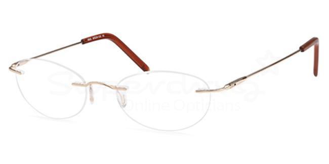 Gold EXPLORE Glasses, Zirconium