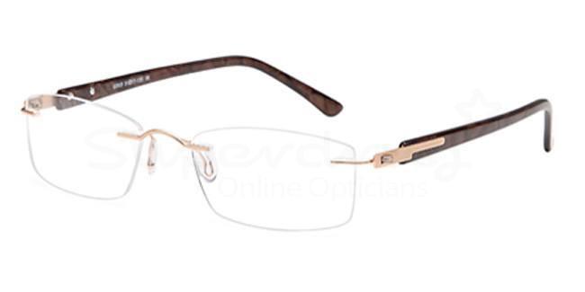 Gold EMP7571 Glasses, Zirconium