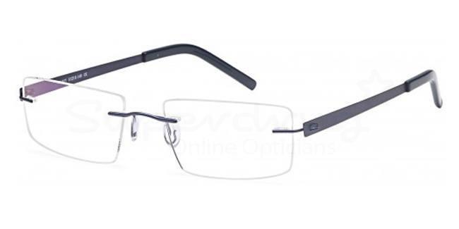 Navy EMP7582 Glasses, Zirconium