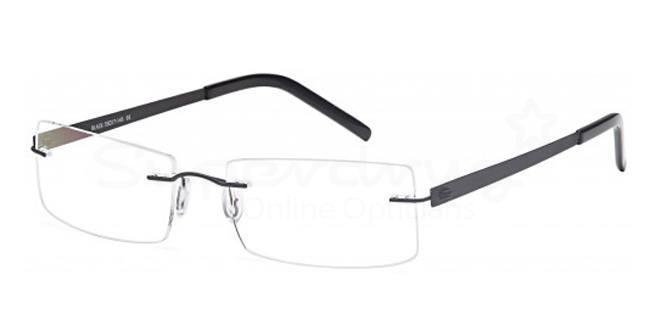 Black EMP7584 Glasses, Zirconium