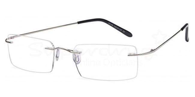 Silver EMP7586 Glasses, Zirconium