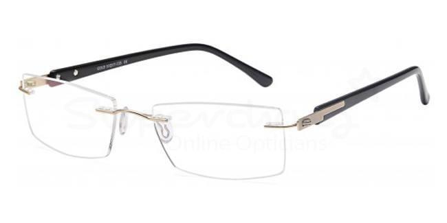 Gold EMP7587 Glasses, Zirconium