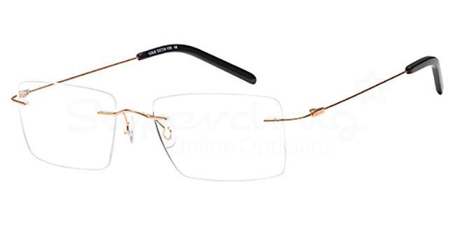Gold EMP7588 Glasses, Vista