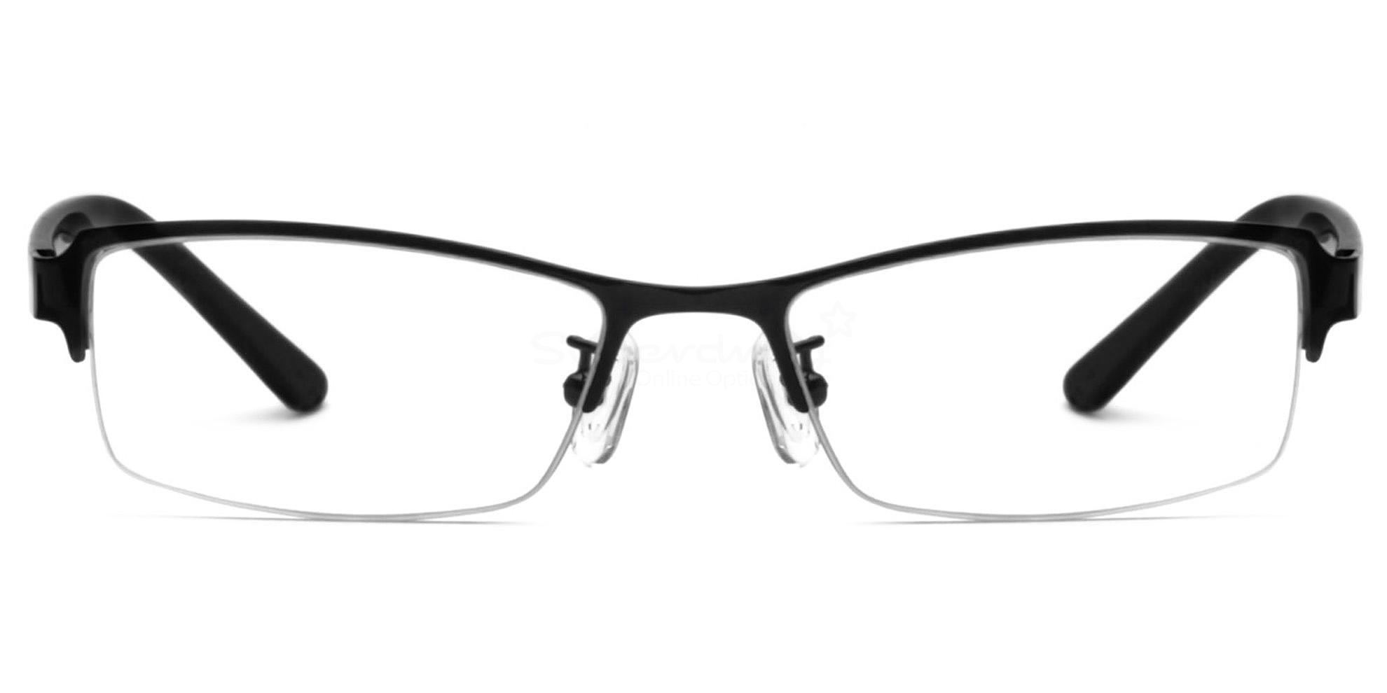 Black 8062 Glasses, Indium