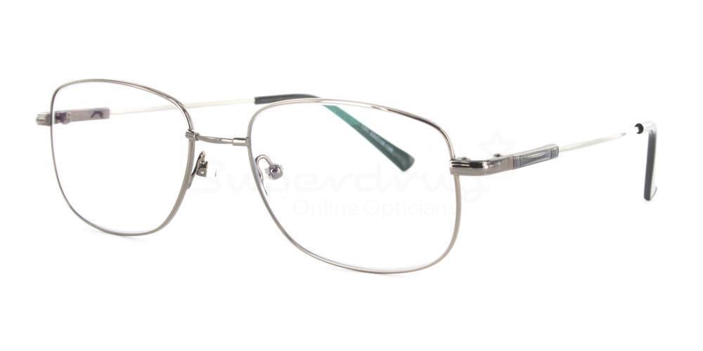 Gunmetal 131 Glasses, Immense