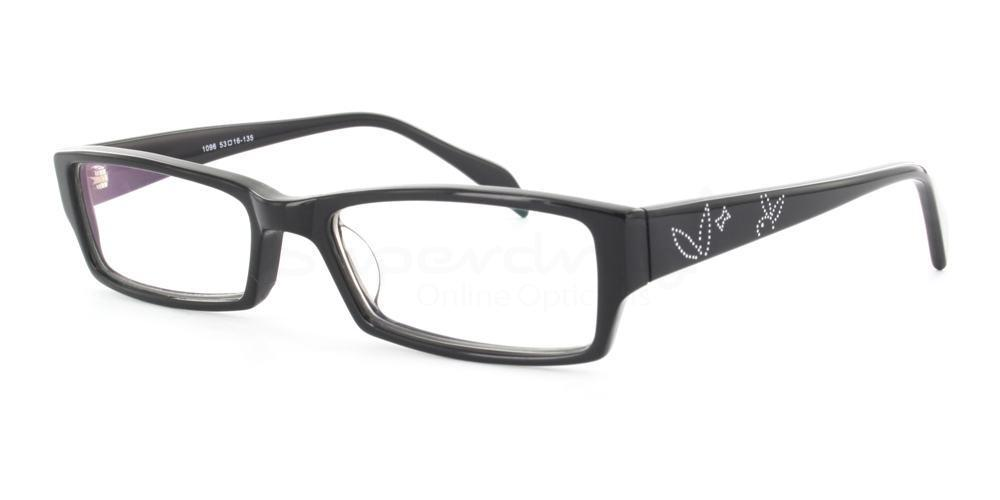 Black 1096 Glasses, Indium