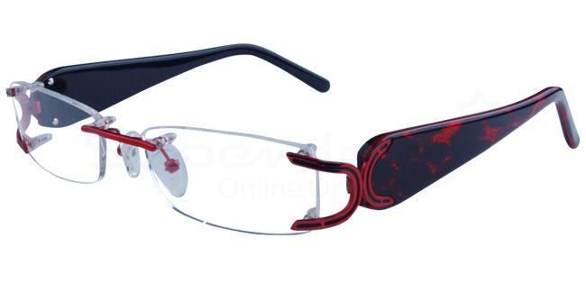 Red/Black 808049 Glasses, Neon
