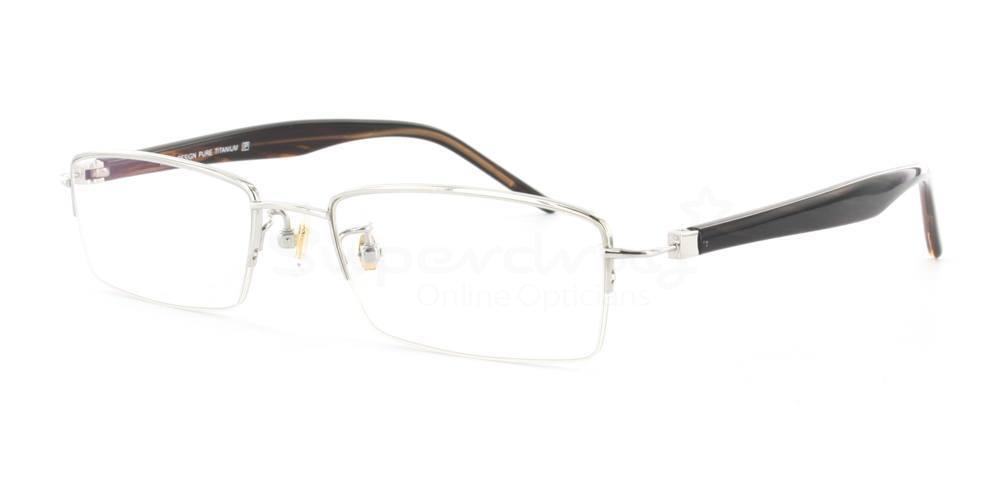 Silver/Havana D81185 Glasses, Cobalt