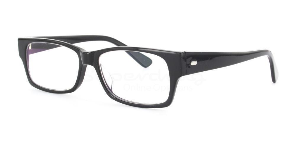 Black BL132 Glasses, Immense