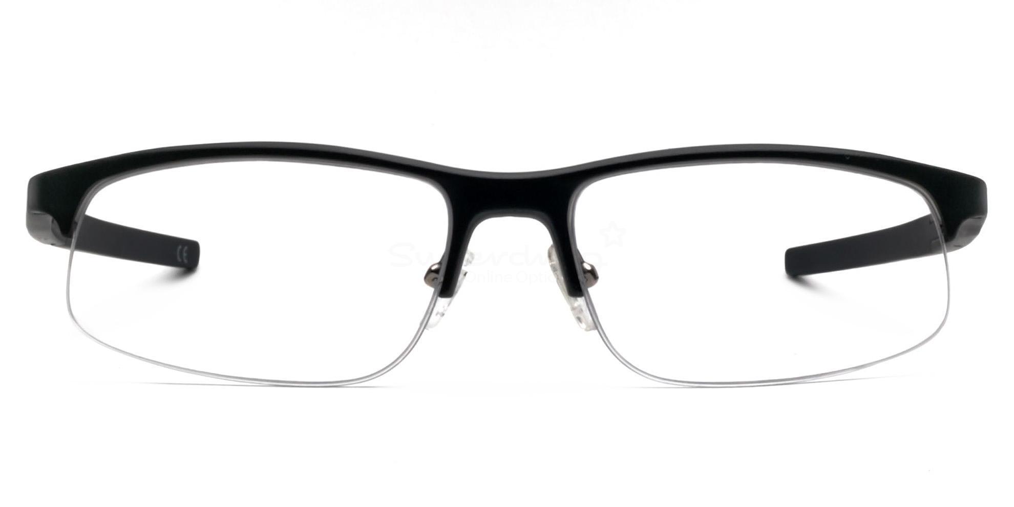 Black GM 229 Aluminium Glasses, Cobalt