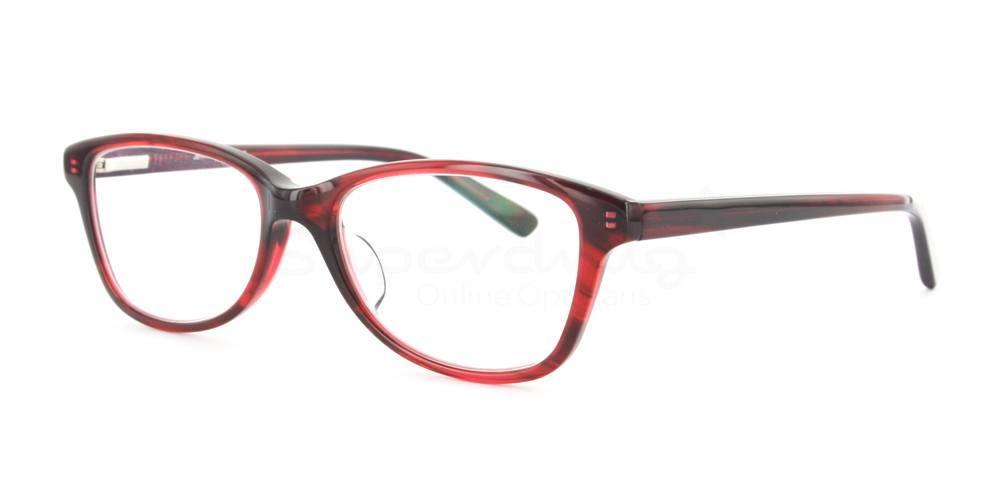 Red A6673 Glasses, Indium