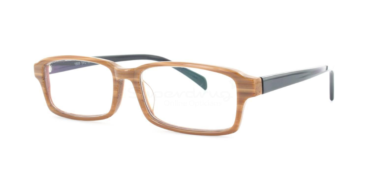 Light Brown A1505 Glasses, Immense