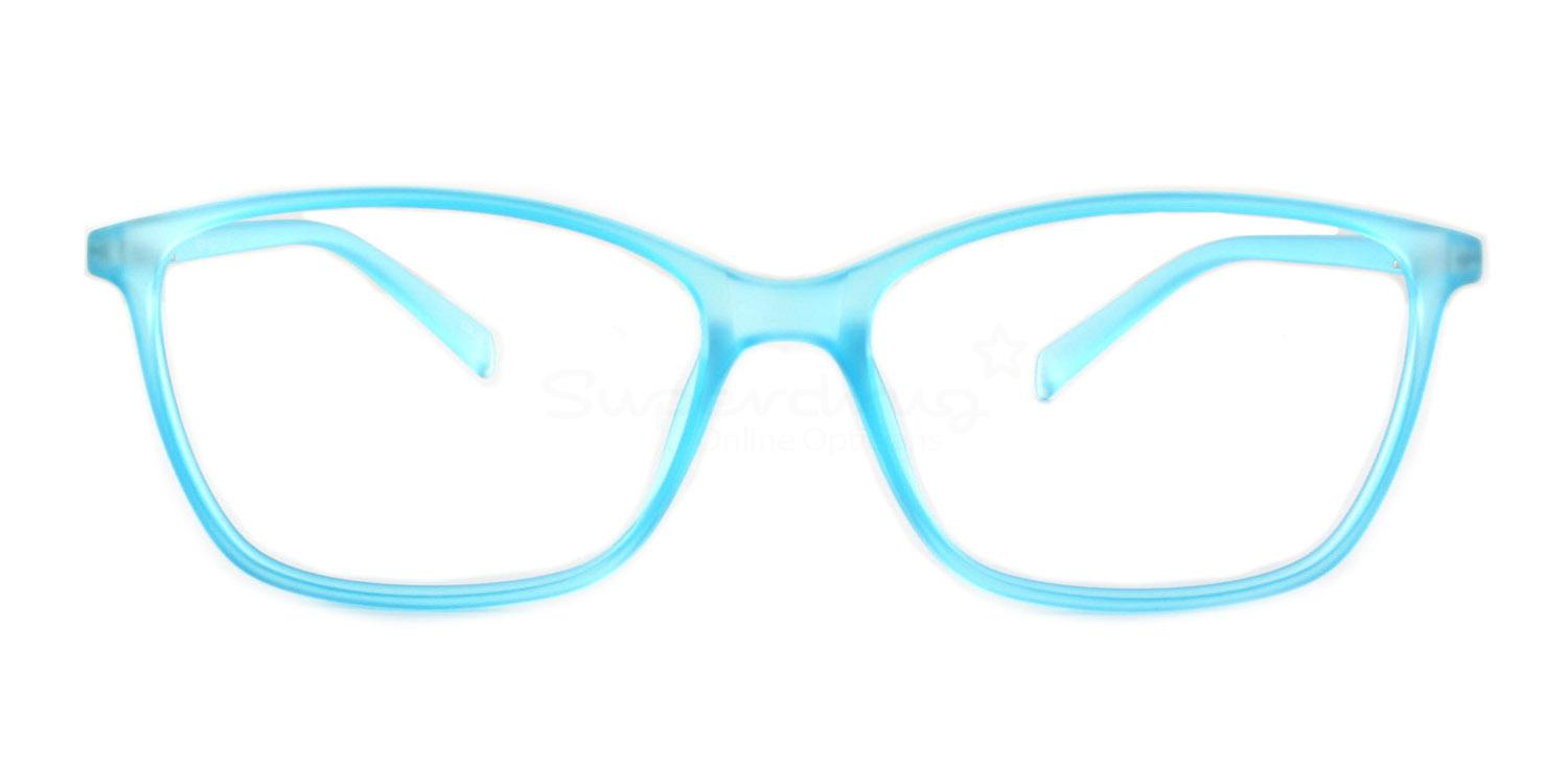 Clear Pale Blue R604 Glasses, Immense