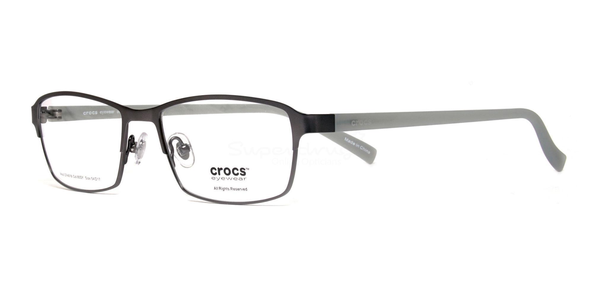 80GY CF4018 Glasses, Crocs Eyewear