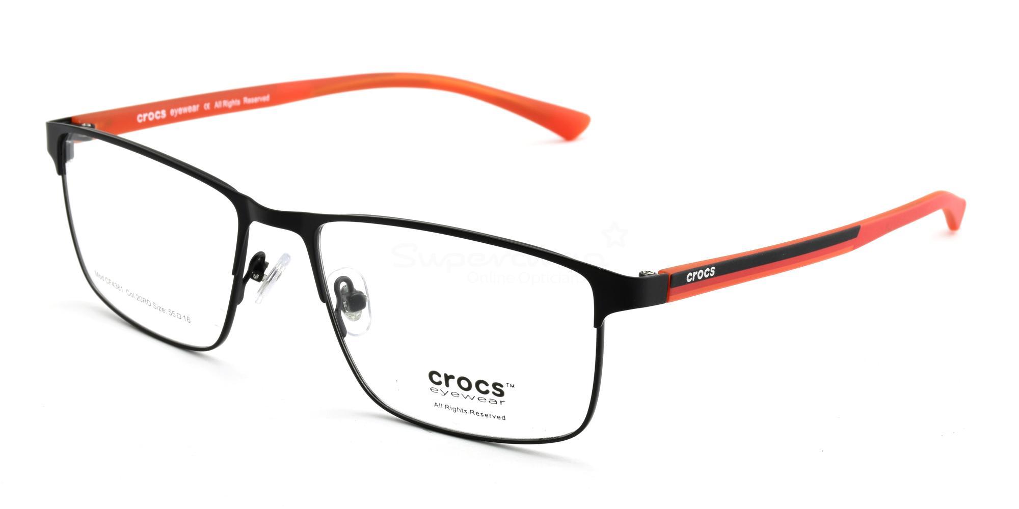 20RD CF4361 Glasses, Crocs Eyewear