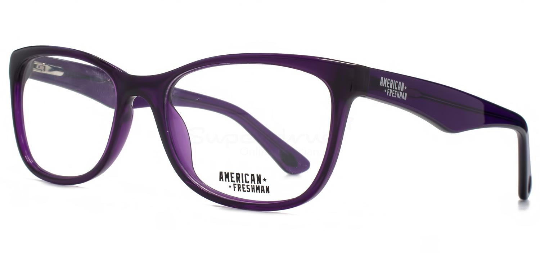 PUR AMFO005 - Faith Glasses, American Freshman