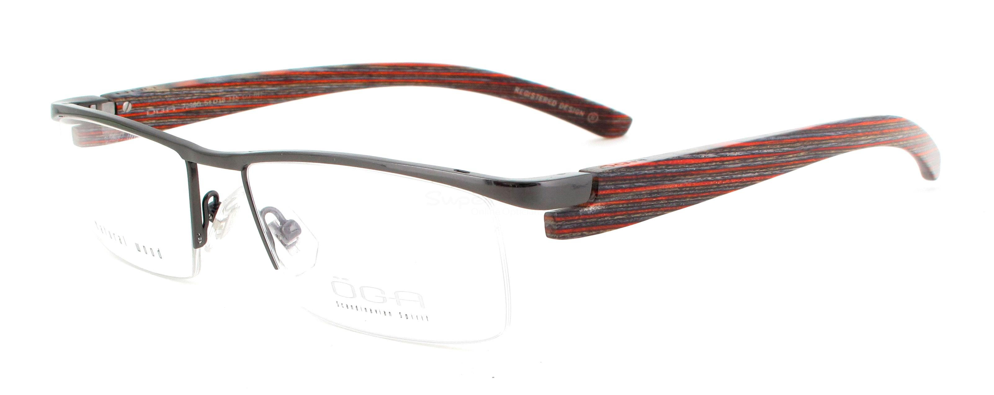 GO011 7296O T TRA (WOOD) Glasses, ÖGA Scandinavian Spirit