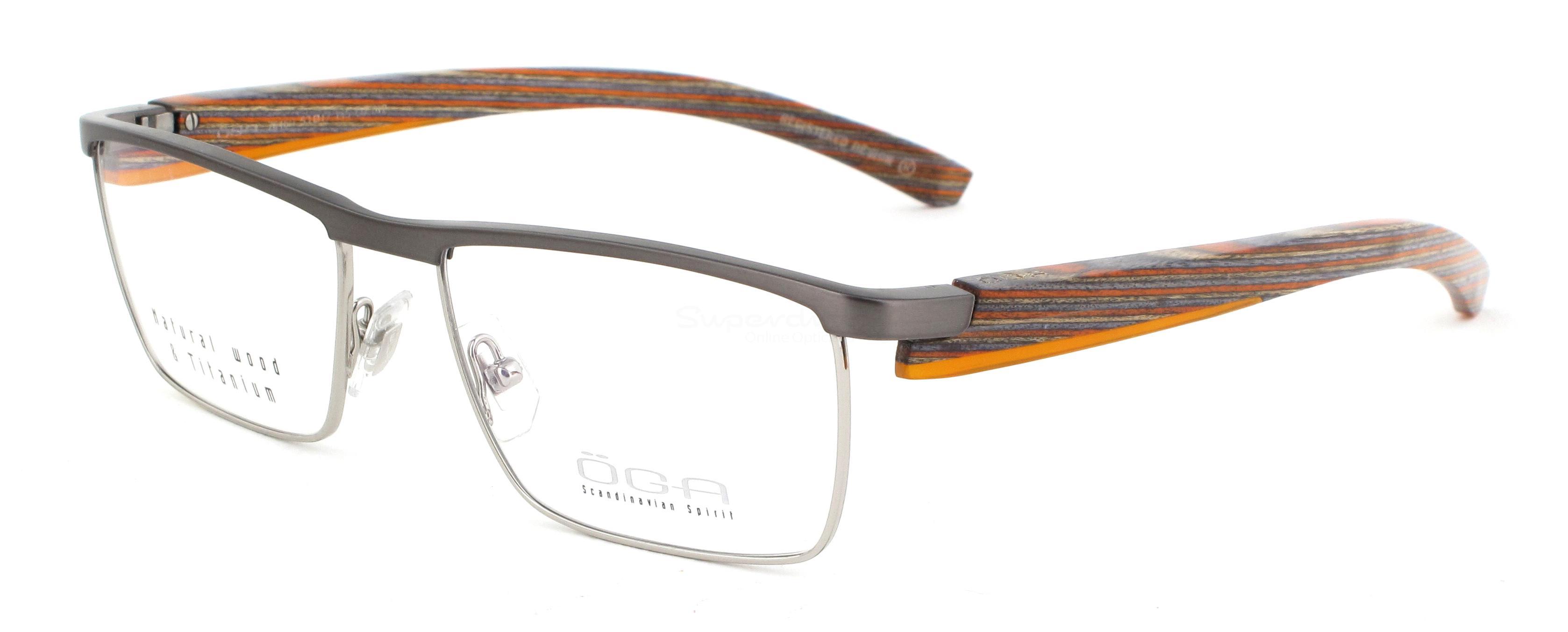 GO012 7646O T TRAC (WOOD) Glasses, ÖGA Scandinavian Spirit