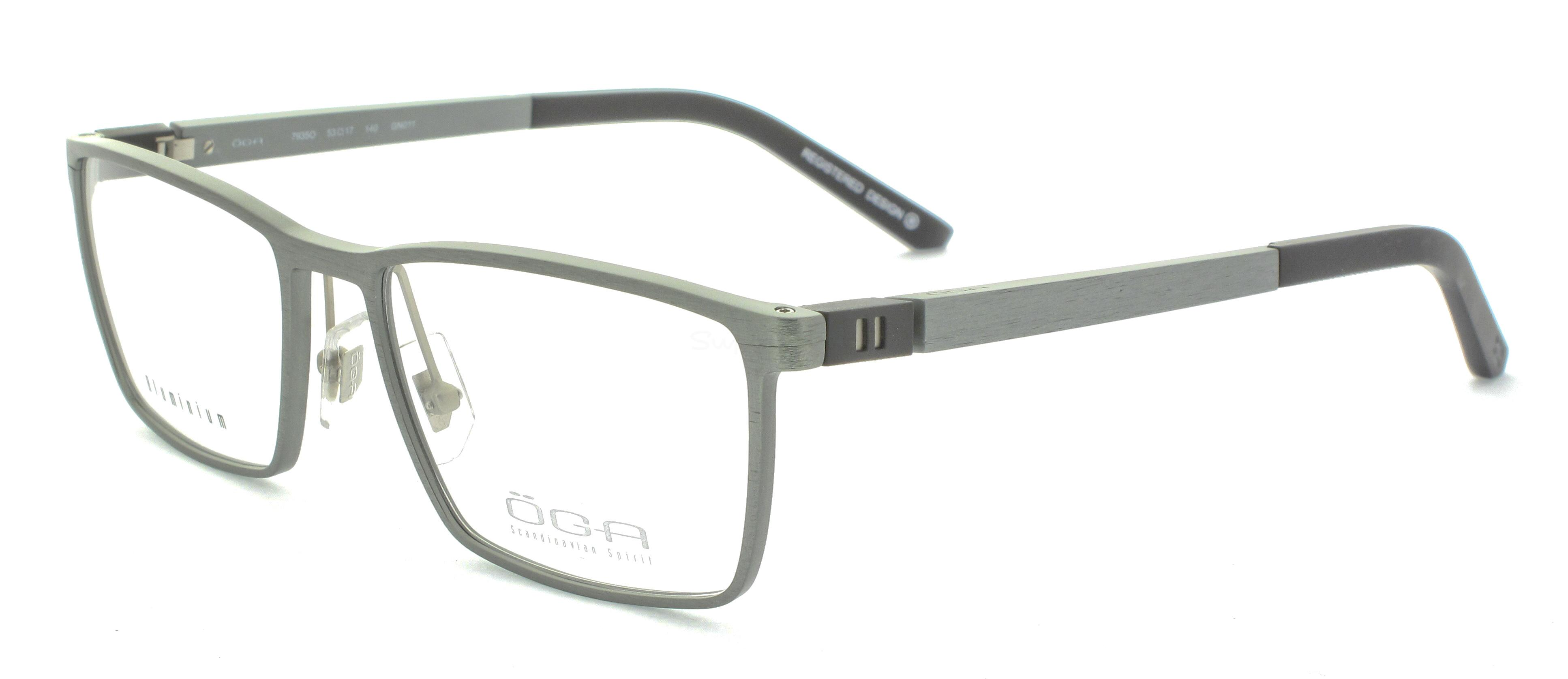 GN011 7935O SKARP (FULL  ALUMINIUM) Glasses, ÖGA Scandinavian Spirit