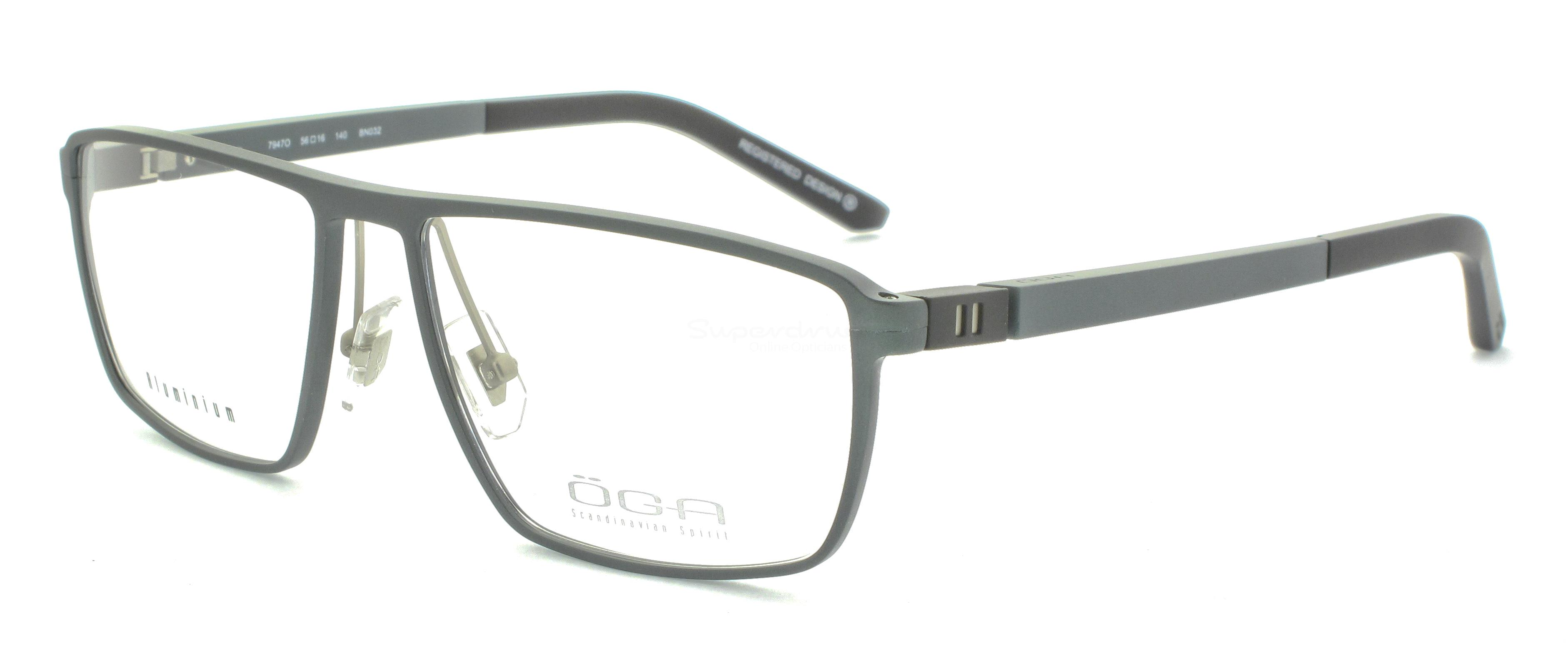 BN032 7947O SKARP (FULL  ALUMINIUM) Glasses, ÖGA Scandinavian Spirit