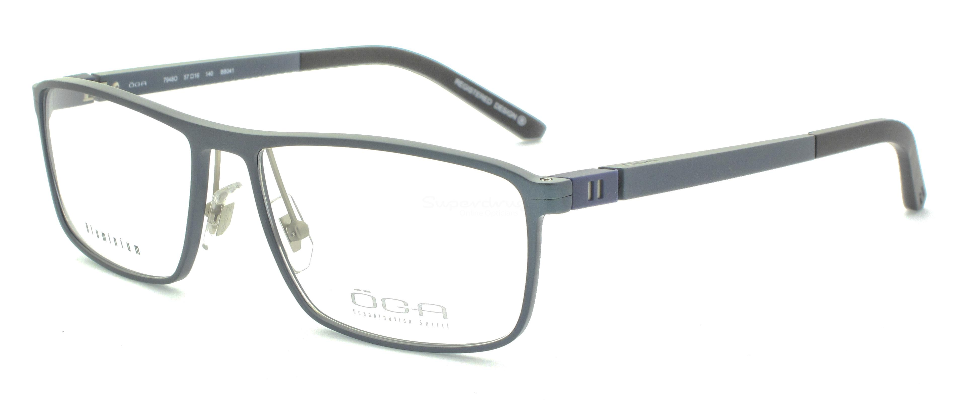 BB041 7948O SKARP (FULL  ALUMINIUM) Glasses, ÖGA Scandinavian Spirit