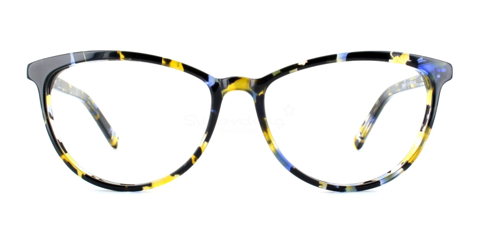 C5 SRA161 Glasses, Neon