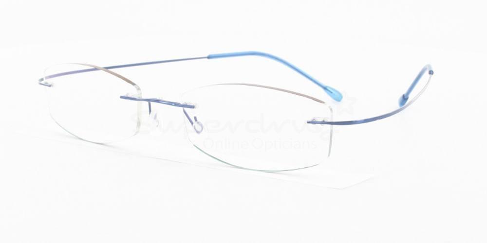 Blue 3829 Glasses, Immense