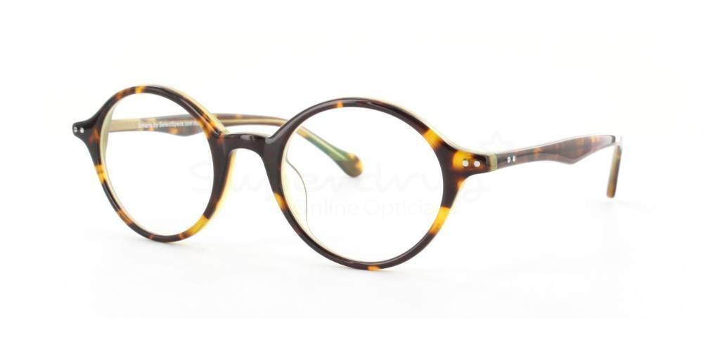 C22 S007 Glasses, Cobalt