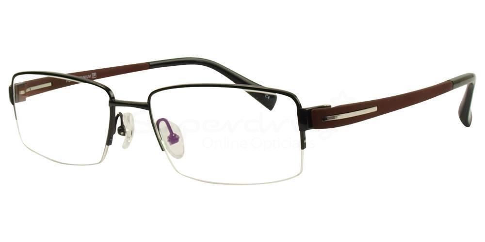 C4 D81260 Glasses, Cobalt