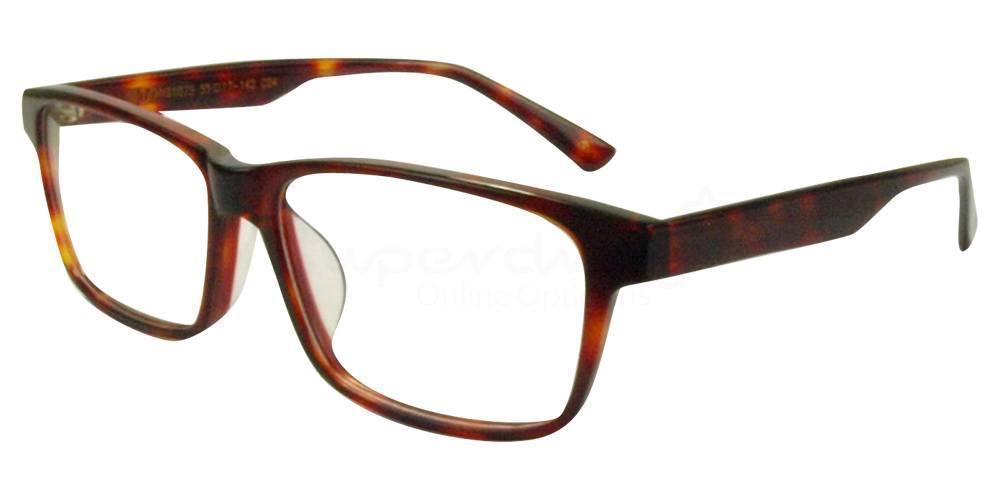 C04 Havana HY81075 Glasses, Immense
