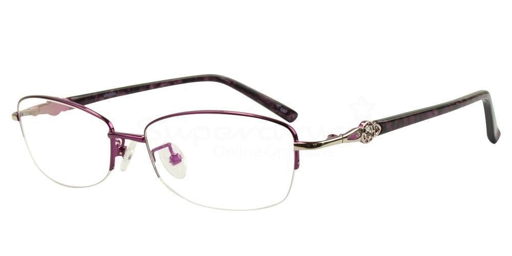 C07 8807 - SEMI-RIMLESS Glasses, Immense