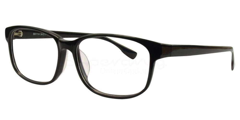 Black B81114 Glasses, Immense