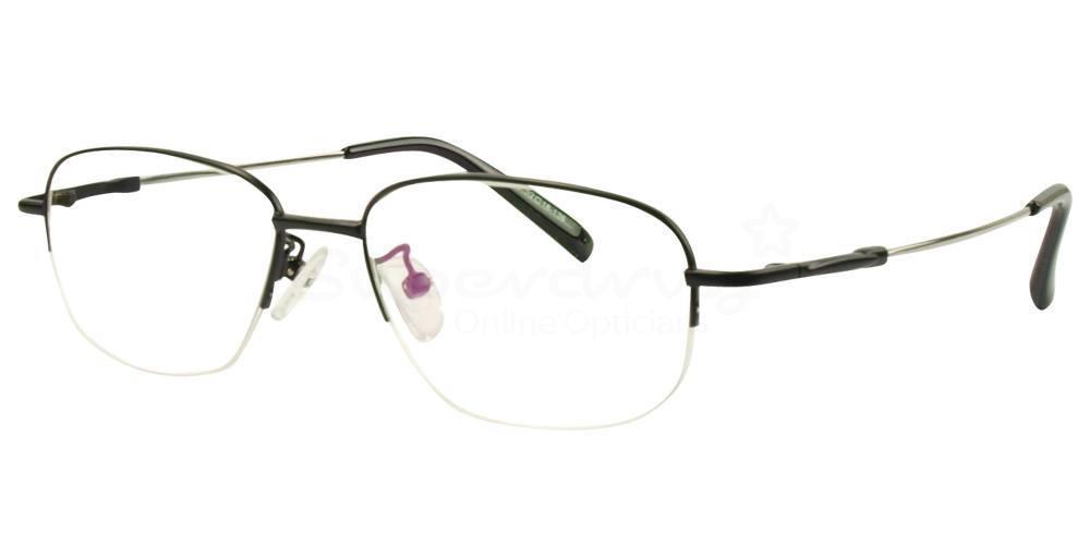 Black 612 Glasses, Indium