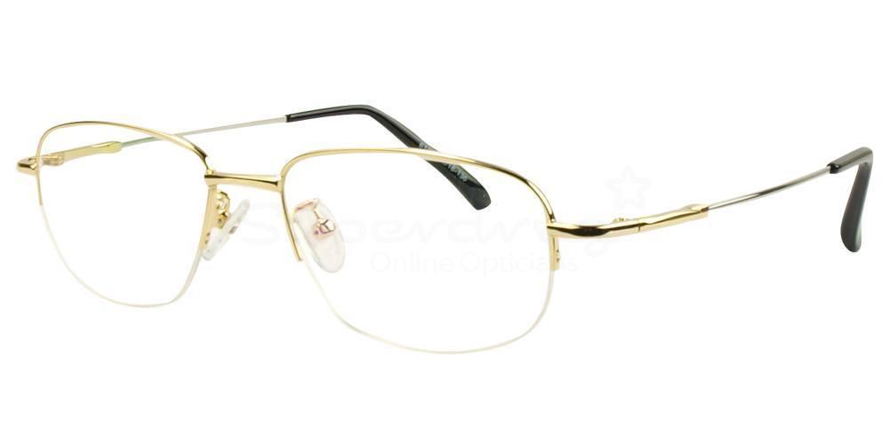 Gold 612 Glasses, Indium