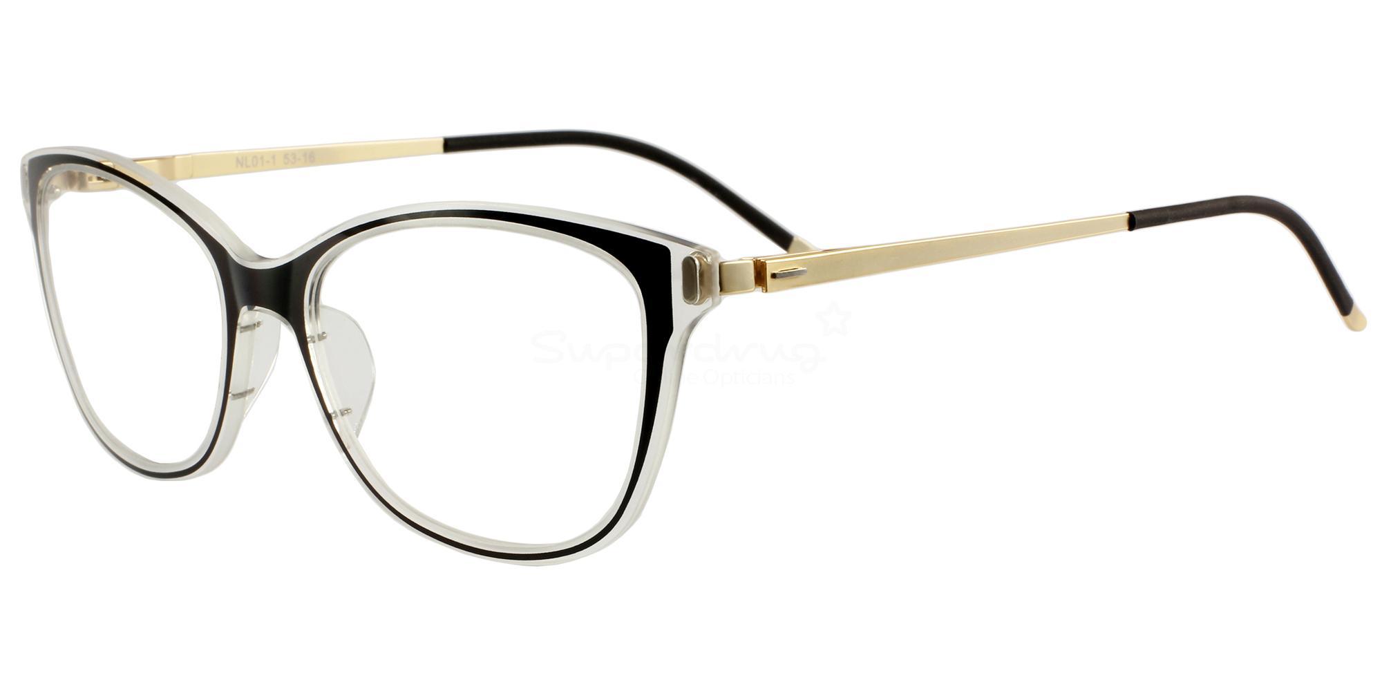 C1 01 Glasses, Nord Lite