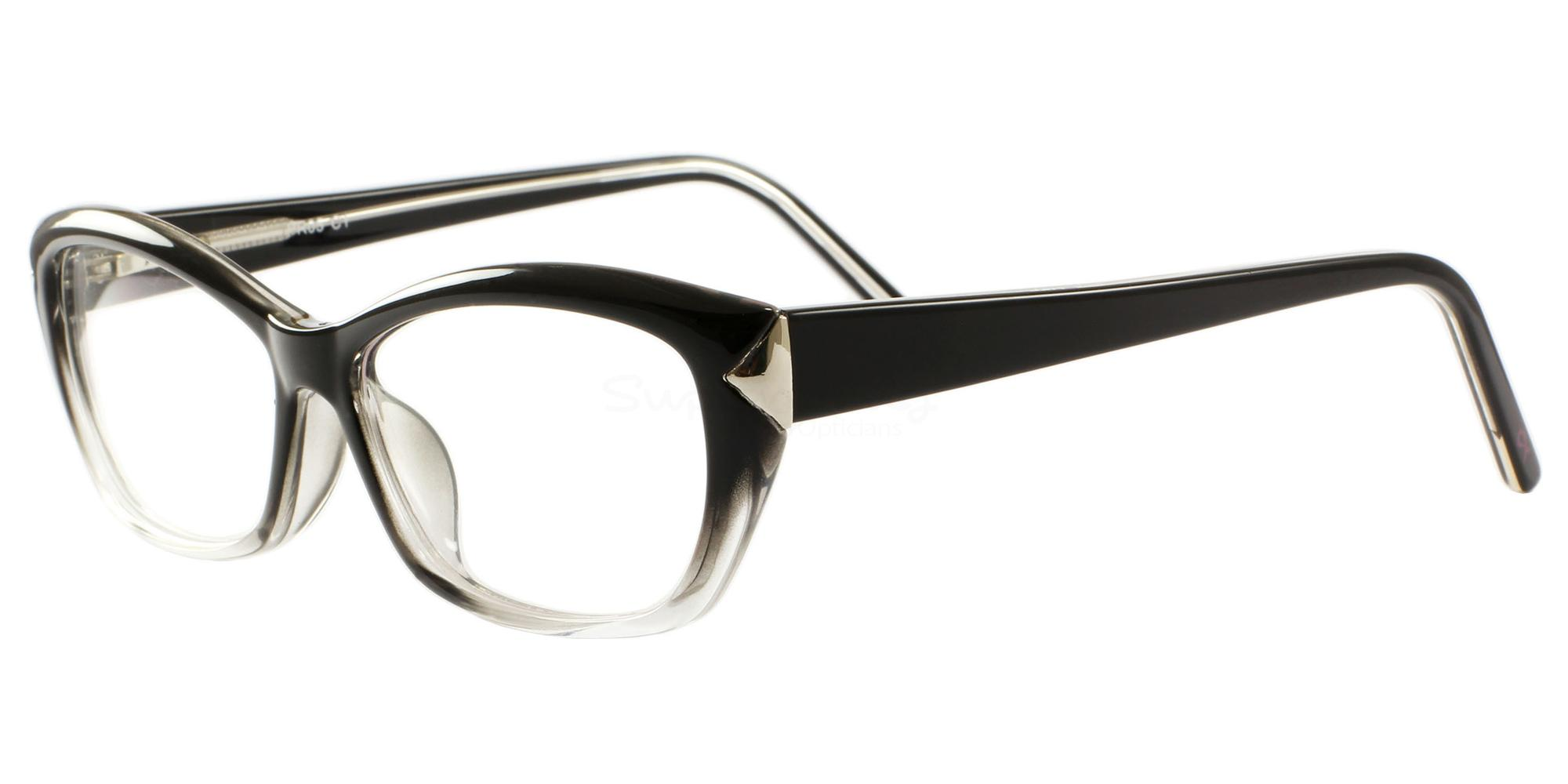 C1 05 Glasses, Pink Ribbon