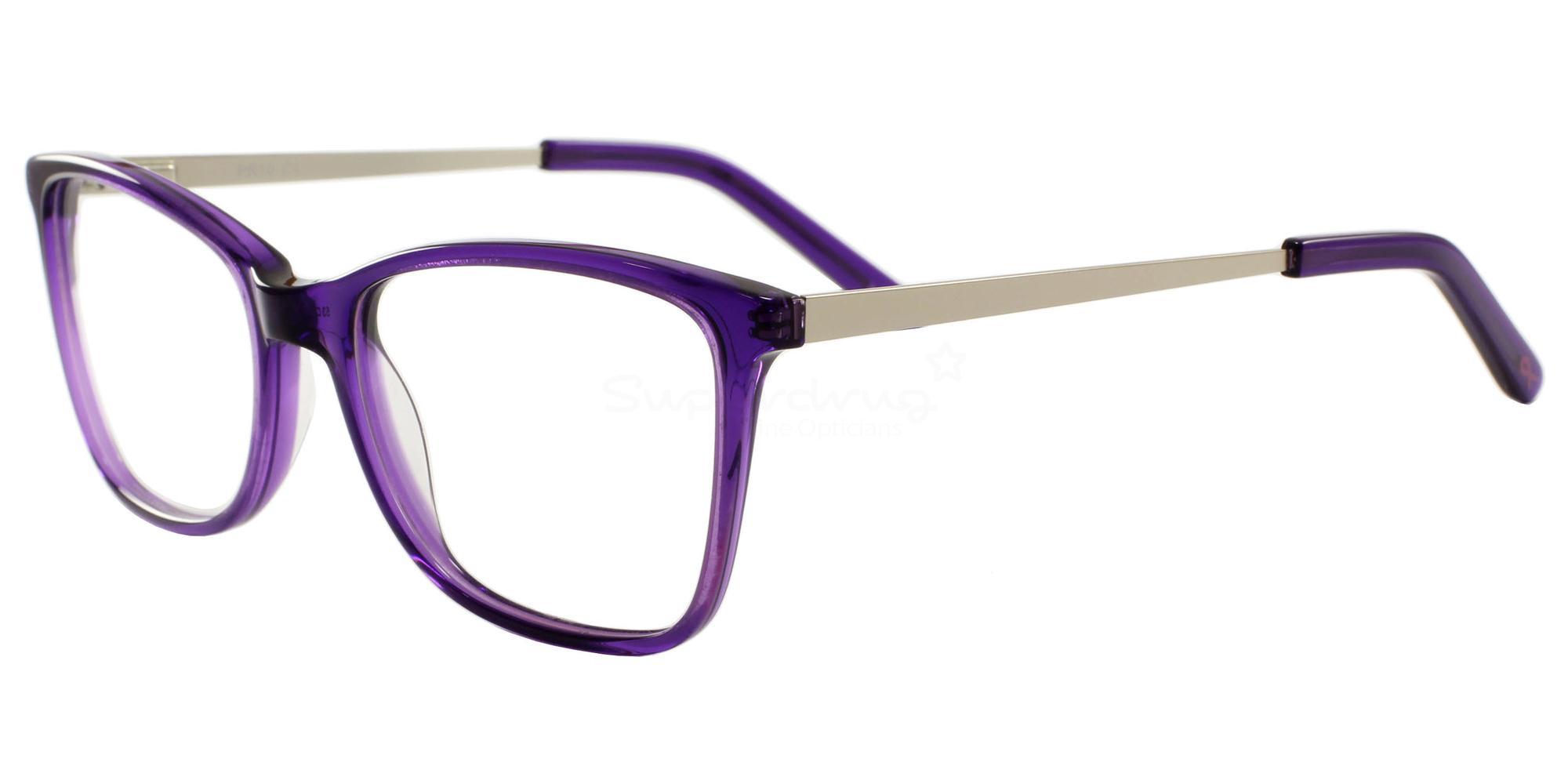 C1 10 Glasses, Pink Ribbon