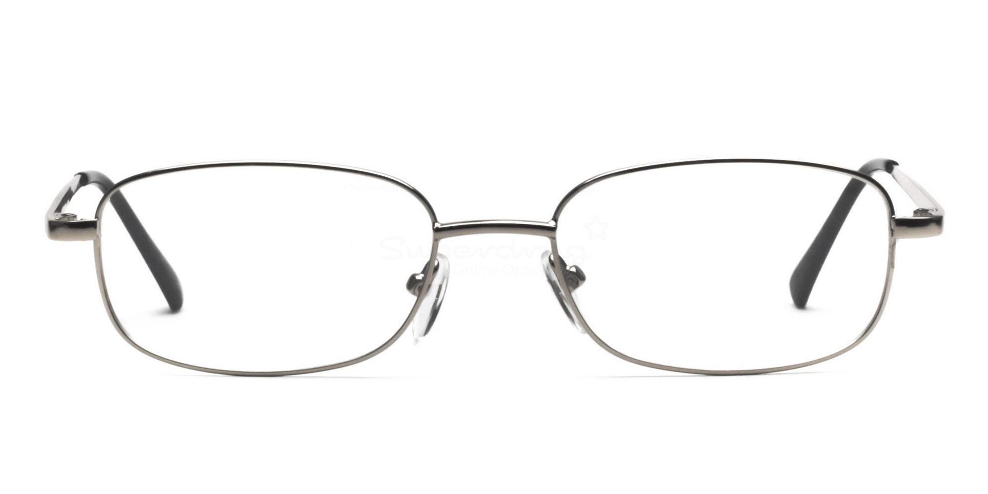 Silver 2172 (Silver) Glasses, Helium