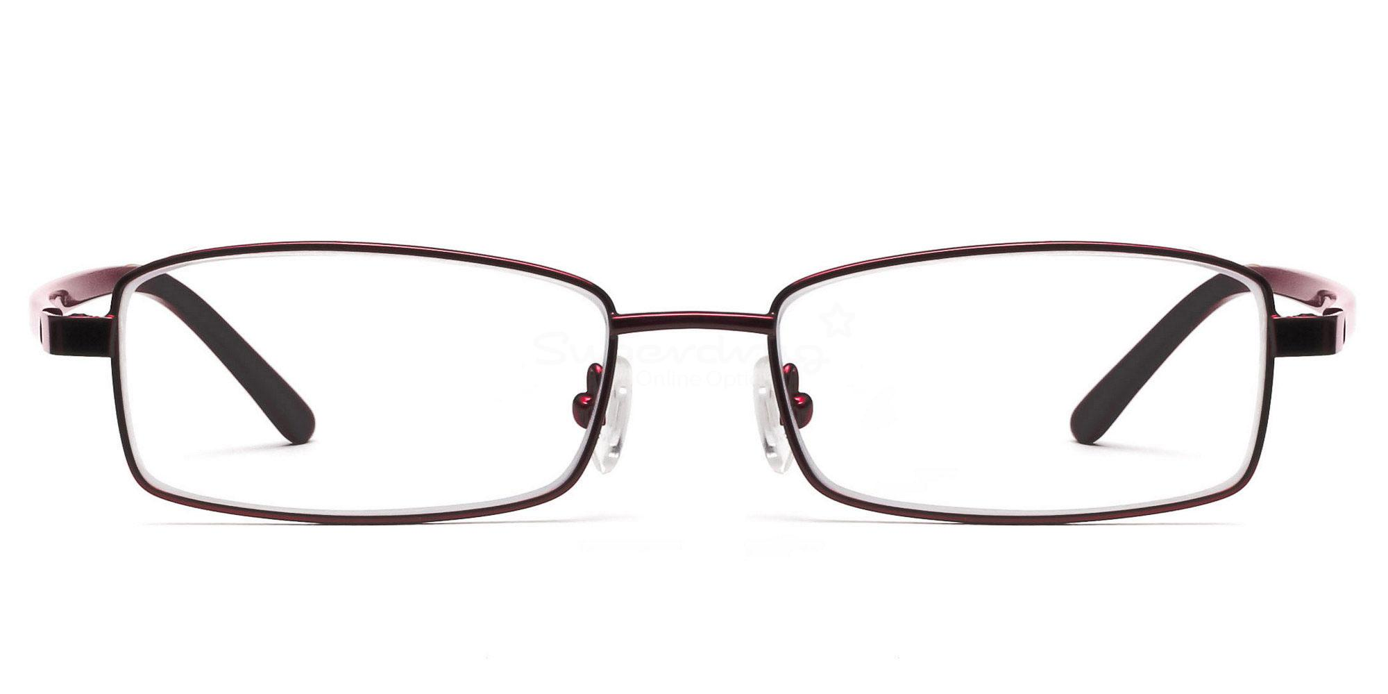 Red 6058 - Red Glasses, Helium