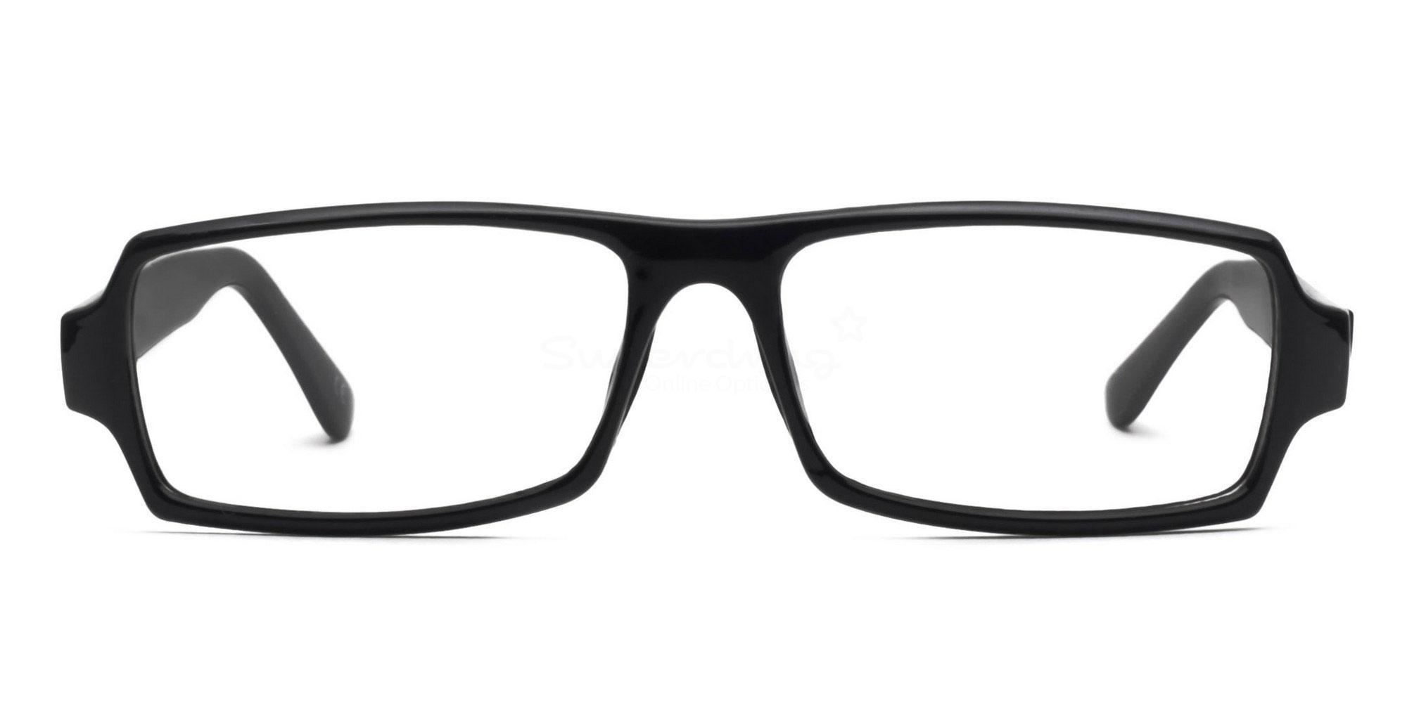 C1 Black 77068 (Black) Glasses, Helium