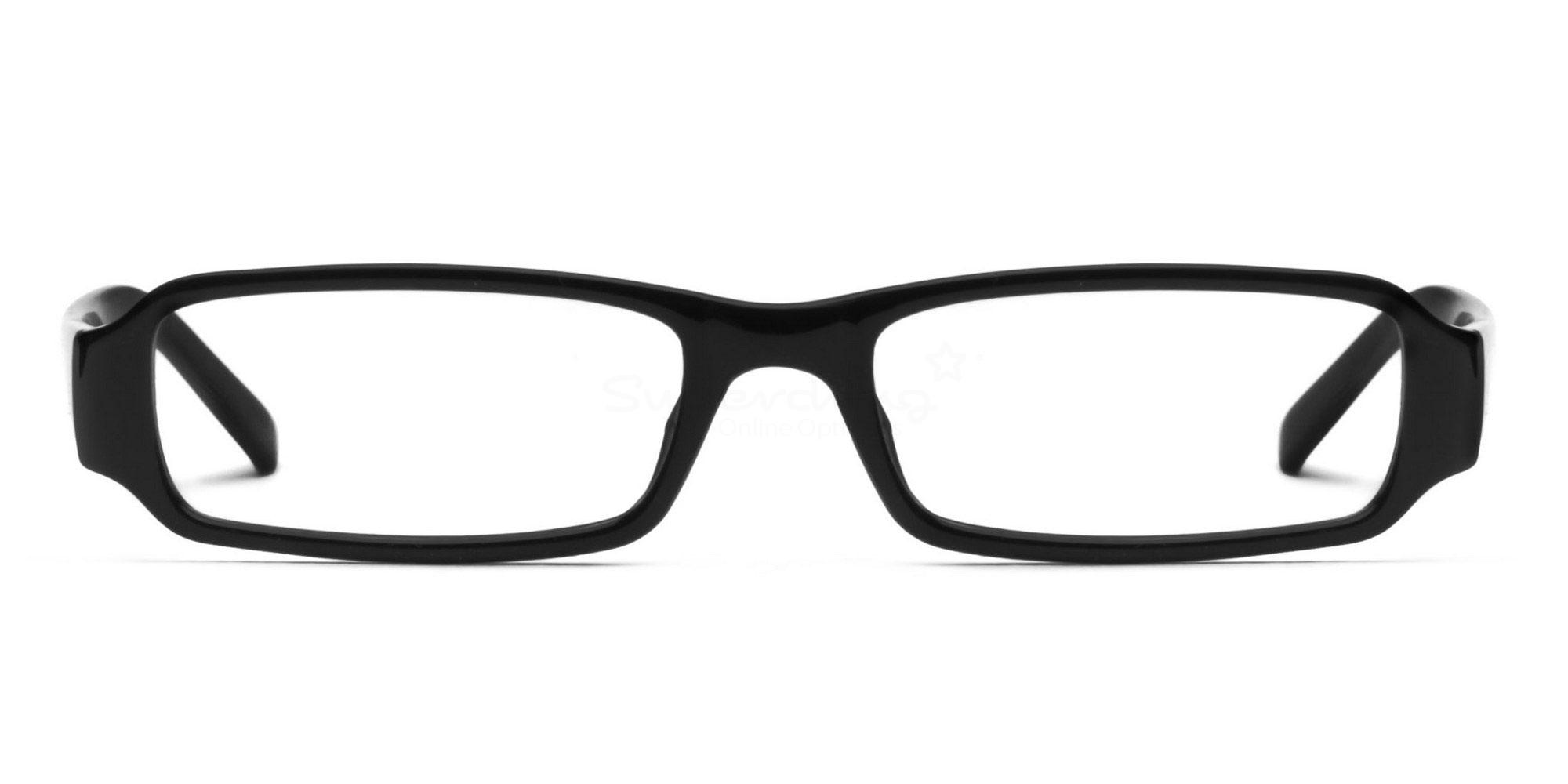 C1 Black 77088 (Black) Glasses, Helium